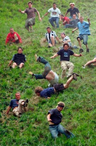 "Gloucestershire ""Cheese Rolling and Wake"""